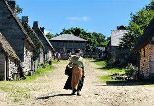 Pilgrim On Main Street