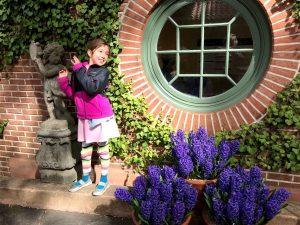 """Spring hyacinths make me happy!"""