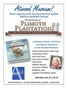 Atwood House Author Event